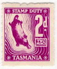 (i. b) Australia-Tasmania ingresos: timbre 2d