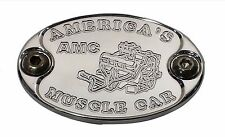 E6014-AS25N Aluminum Engine Motor Fender Hood Emblem AMC AMX 360 390 401 - USA