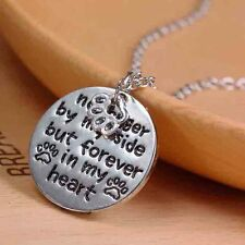 'No Longer By My Side But Forever In My Heart'Pendant Chain Gift Elegant Hot