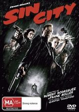 SIN CITY Jessica Alba / Bruce Willis DVD R4 - New - Tarantino
