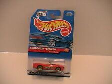 1999 HOT WHEELS RED JAGUAR XK8 SUGAR RUSH  #2 OF 4  ON ORIGINAL BLISTER PACK NEW