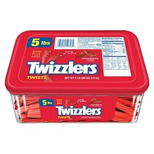 TWIZZLERS Twists (Strawberry 5-Pound Package) Strawberry