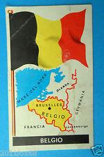 figurines stickers picture cards figurine bandiere del mondo 10 belgio folgore