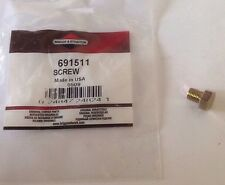 GENUINE BRIGGS & STRATTON SCREW 691511 - original Briggs screw / CARBURETOR PLUG