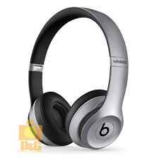 New Beats by Dr. Dre Solo 2 BlueTooth Wireless Edition Headphones Space Gray