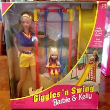 Giggle And Swing Barbie And Kelly Unopened 1998