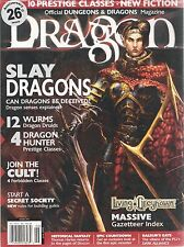 D&D d20 3rd Edition Dungeons & Dragon Magazine #296 Living Greyhawk!