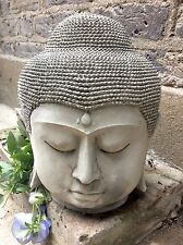 Very Large Beautifully Detailed Buddhas Head Statue , For The Home Or Garden.