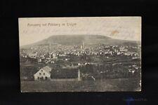 alte AK Annaberg  mit Pohlberg im Erzgebirge 1916