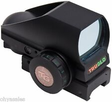 Truglo TruBrite Open Red Dot Sight Dual Color TG 8380B Black - TG8380B