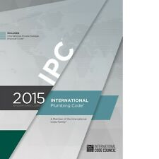 2015 International Plumbing Code (IPC) by ICC PDF CD