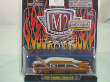 NEW 59 Cadillac -series 62-M2- Machines 1:64 Diecast Auto-Stretch Rods