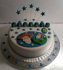 Toy Story Cake Topper - Any Name - Any Colour - Birthday - Christening
