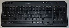 Logitech K360 Wireless Computer Keyboard Black without Reciever