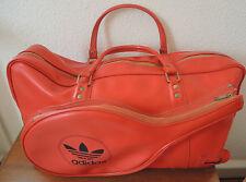 Große Sporttasche Tasche Adidas 70s 70er mit Tennis Germany rot Vintage !!! RAR