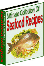 HUGE Collection of GREAT Seafood Recipes - Including Master Resale Rights on CD