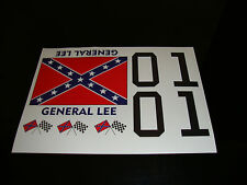 General lee dukes of hazard rc decals stickers 1/10 1/8