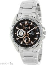 Casio Edifice EF336D-5A Mens 100M Stainless Steel Dress Watch - Multi Hands