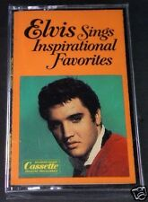 ELVIS Sings Inspirational Favorites Brand NEW Vintage RARE Sealed Cassette Tape