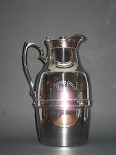 VINTAGE CNR Canadian National Railways CHROMED THERMOS