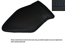 GRIP VINYL ROYAL BLUE DS STITCH CUSTOM FITS BMW S 1000 RR 15-16 REAR SEAT COVER