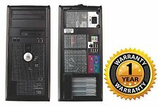 Dell Optiplex 755 TOWER PC DESKTOP COMPUTER Intel Core 2 Duo 2.6 4GB NO HD NO OS