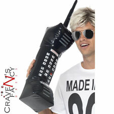 80s Inflatable Jumbo Retro Mobile Phone 76 cms Dom Jolly Fancy Dress  Stag