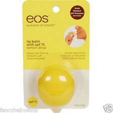 EOS Evolution Smooth Lemon Drop Lip Balm Sphere Original from USA 0.25 oz / 7g