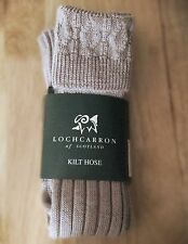 LOCHCARRON of SCOTLAND MENS SHOOTING,KILT SOCKS UKSIZE 10 Hose size11