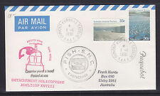 ANTARCTIC COVER: 1991 PAQUEBOT COVER