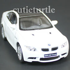 Kinsmart Bmw M3 E92 2 Doors Coupe 1:36 Diecast Toy Car White