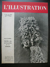 JOURNAL  L'ILLUSTRATION N° 5244 - 11 SEPTEMBRE 1943  LES OPERATIONS A L'EST