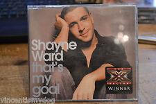 SHAYNE WARD - THAT'S MY GOAL (3 track CD single)