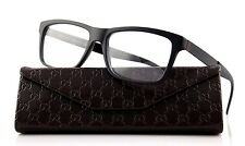 RARE NEW Genuine GUCCI Matte Black Designer Eye glass Frame Glasses GG 1045 ACZ