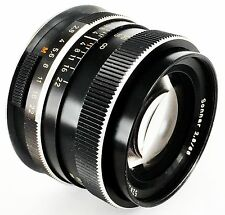CARL ZEISS SONNAR 85MM, f:2.8 - ROLLEI QBM - CONVERTED TO CANON EOS EF MOUNT