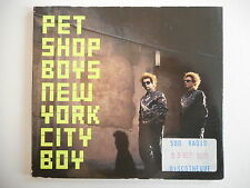 PET SHOP BOYS : NEW YORK CITY BOY [ PROMO CD SINGLE ] ~ PORT GRATUIT !