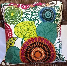 Cushion Cover Bright Retro Abstract Africa Linen Cotton Pillow Case Decor Covers