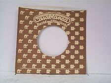 2-CASABLANCA RECORD COMPANY 45's SLEEVES  LOT # 84