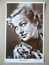 Vintage Film Star Real Photo Postcard- ANNE SHIRLEY, Radio Pictures