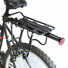 PEDALPRO STRONG ALLOY REAR BICYCLE PANNIER BAG/LUGGAGE RACK REFLECTOR BIKE/CYCLE