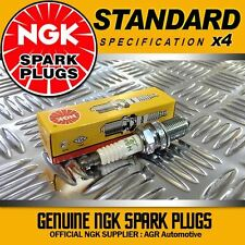 4 x NGK SPARK PLUGS 4665 FOR FORD ORION 1.3 (89-- 91)