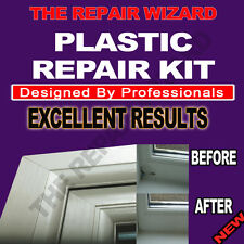 UPVC Window Frame Repair Kit, Chips cracked damged Easy Fix includes satin Paint