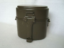 Vintage 1965 Swiss Army Aluminum Storage Food Container Military mess kit
