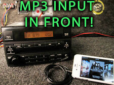 NISSAN ALTIMA CD PLAYER STEREO RADIO 05 06 MP3 IPOD SAT AUXILIARY AUX INPUT HOLE