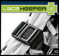 Lacekeeper 2  keeps shoelaces tied and out of the way.