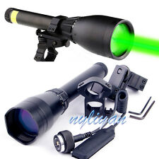 ND3-50 Night Vision Green Laser Designator Flashlight&Scope Mounts&Remote switch