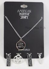 New American Horror Story Multi Charm Pendant Necklace Normal People Scare Me