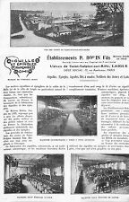 61 SAINT-SULPICE-SUR-RILLE ETS BOHIN AIGUILLES EPINGLES ARTICLE PRESSE 1927