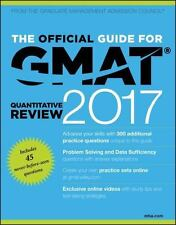 The Official Guide for GMAT Quantitative Review 2017 with Online Question Bank