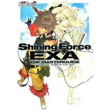 Shining Force EXA The Master Guide Book PS2